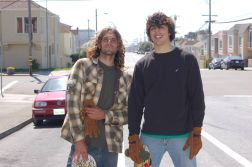John and I on another SF excursion years ago