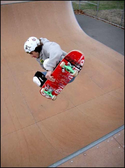 Chris Lisanti Skating the Jackson NJ Skate Park