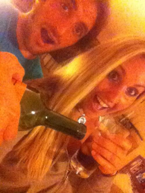 After we finished this bottle of wine we moved on to rum, then AMF's, then we couldn't remember.
