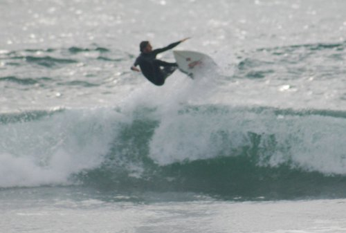 December was one big speed blur of surfing, kind of like this frame grab from Silver Strand.