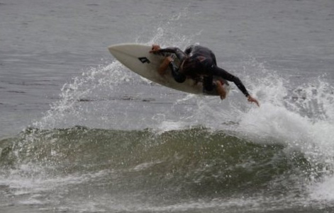 When you find those terrible waves the least you can do is make the most of them.