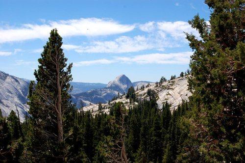 Yosemite back side of Half Dome