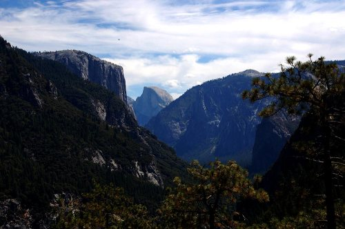 Yosemite Dome Valley Overlook