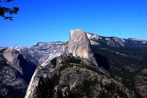 Half Down as viewed from Glacier Point.