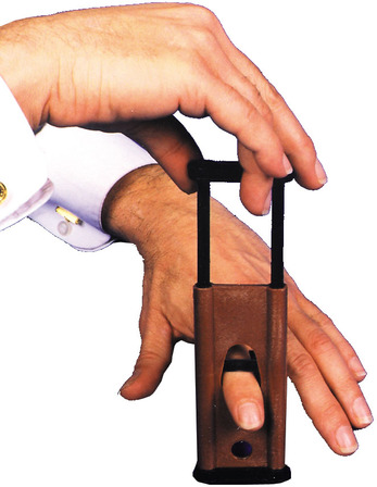 Finger guillotine