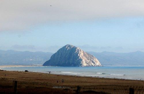 The iconic Morro Rock, Morro Bay