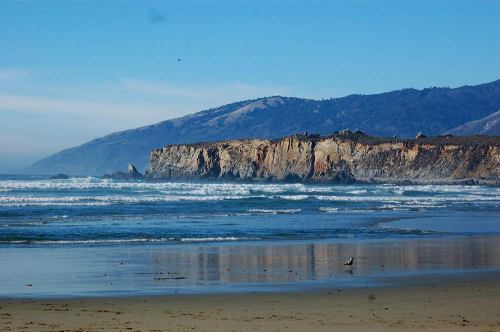 Sand Dollar Beach looking toward the north side.
