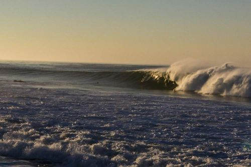Leo Carillo at first light, gigantic. Photo: Mike Astede