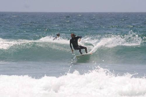Things started out on the small side, though I did make the best of it.  Blacks Beach Photo Christopher Dunlea